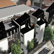 Caulfield Townhouses Megowan Architect