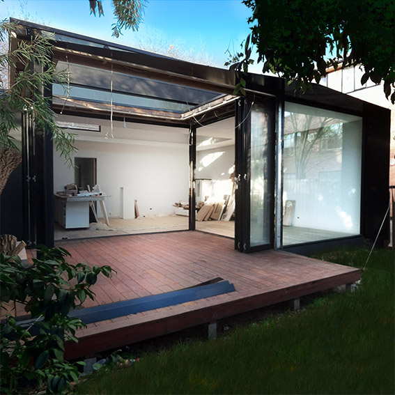 Christopher Megowan Elwood Architecture Architect extension thumb