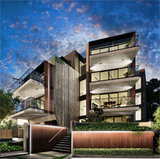 Alexandra Avenue Christopher Megowan Architecture Melbourne High End Apartments Thumb