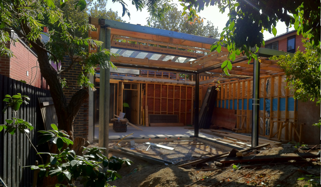 Christopher Megowan Elwood Architect House Construction 2