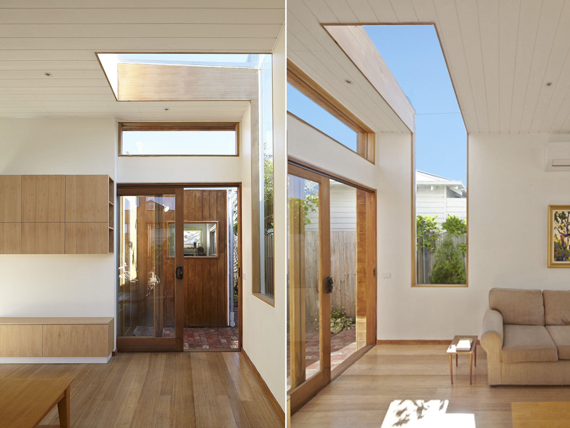 Newport Melbourne Architect Architecture Extension Megowan Rooflight